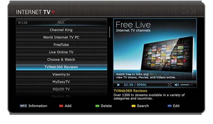 Internet TV du Tiviar